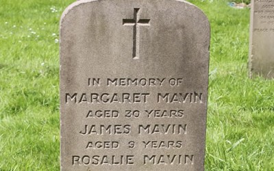 Preston Cemetery Gravestones